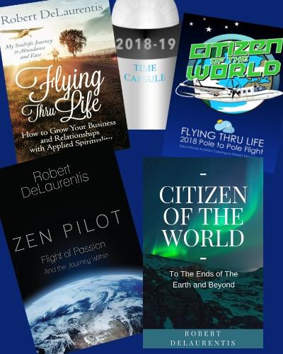 Epic South Pole to North Pole Flight – Delaurentis Foundation
